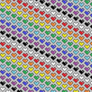 Pixel Heart Spectrum