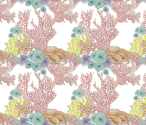 coral_reef fabric by valeri_nick on Spoonflower - custom fabric