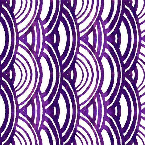 cestlaviv_new_TRADITIONAL_sunmoon_MAY4_purplewash fabric by cest_la_viv on Spoonflower - custom fabric