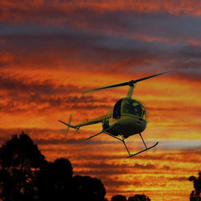 Chopper Sunset