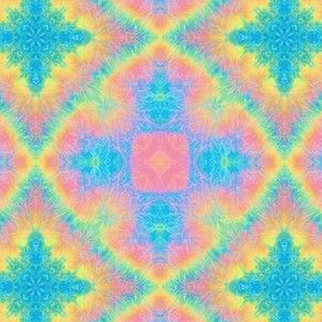 Rainbow Diamond Tie Dye