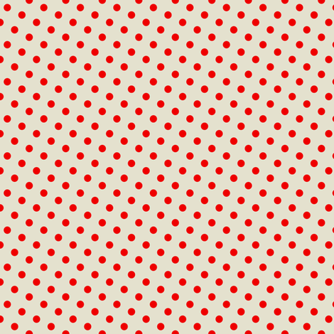 Wrestler red dots fabric by susiprint on Spoonflower - custom fabric