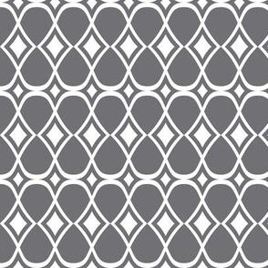 Infinity - Geometric Grey