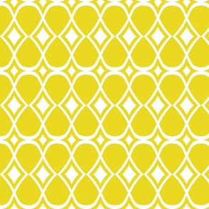 Infinity - Geometric Yellow