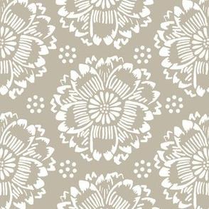 Flower dream dove gray
