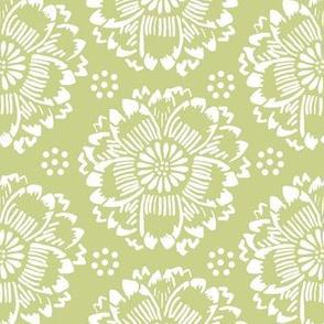 Flower dream green