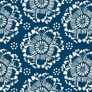 Flower dream indigo