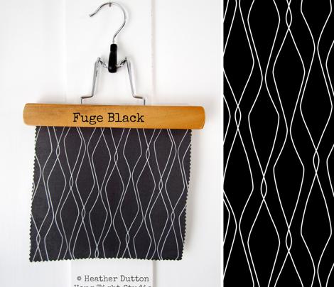 Fuge - Geometric Black