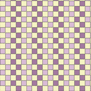 small striped checker