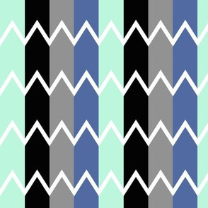 Colored Zig Zag
