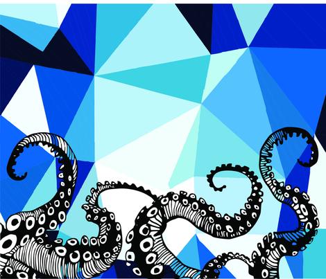 ocean_shoes_octopus fabric by pauroyjj on Spoonflower - custom fabric