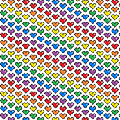 Pixel Heart (Rainbow)