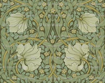 William Morris ~ Pimpernel ~ Original ~ Medium