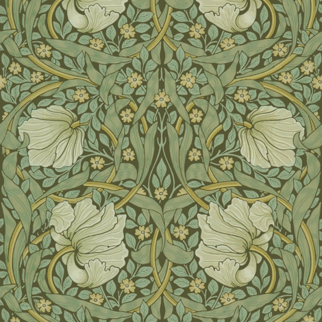 William Morris ~ Pimpernel ~ Original ~ Medium fabric by peacoquettedesigns on Spoonflower - custom fabric
