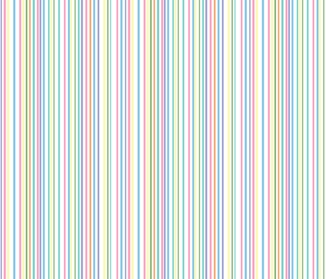 Multicolor stripes  fabric by denisebeverly on Spoonflower - custom fabric