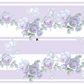 Garden Rose Clover Stripe