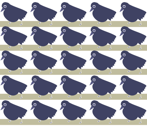 SOOBLOO__Hens_a-_Nesting_-1-01 fabric by soobloo on Spoonflower - custom fabric