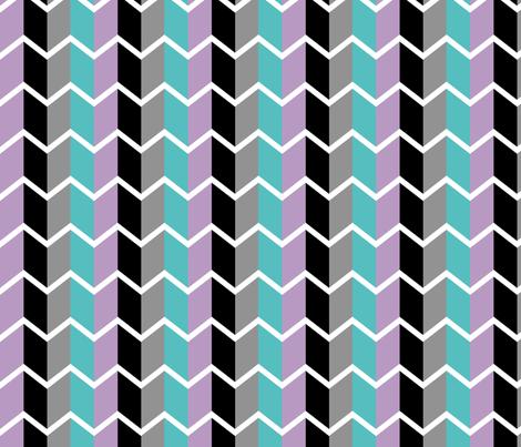 Urban Arrows fabric by queenie87 on Spoonflower - custom fabric