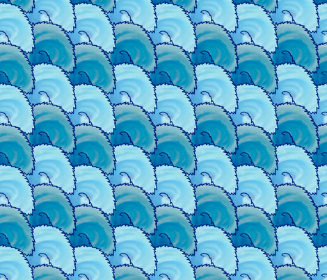 Ocean Tails fabric by hakuai on Spoonflower - custom fabric