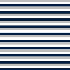 stripes // navy blue and grey stripes kids boys nursery coordinate