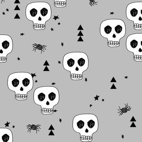 skulls // halloween skull october autumn creepy spooky kids spiders