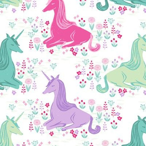 unicorn // pink pastel girls sweet unicorns