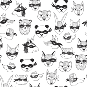 bandit animals // kids dress up cute masks robbers cute kids play time
