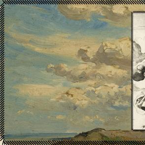 Beach Sky Oil Painting Rijksstudio