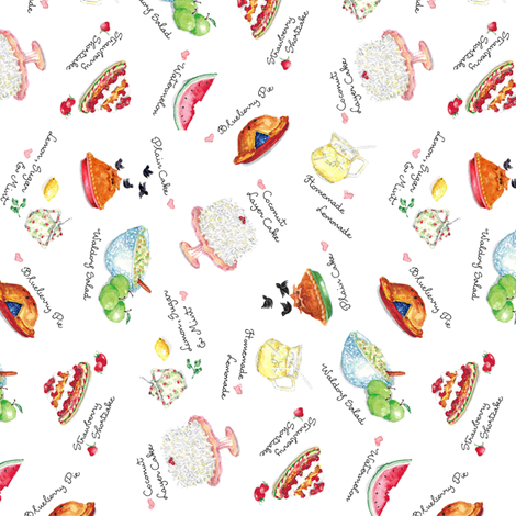 Susan's Kitchen fabric by susanbranch on Spoonflower - custom fabric