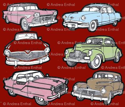 Six Nostalgic Orphan cars  Nash, Studebaker, Hudson, Rambler, Kaiser