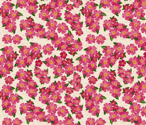 Just Rosy fabric by bags29 on Spoonflower - custom fabric