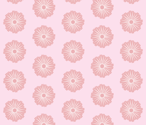 Waterflower_pink fabric by colour_angel_by_kv on Spoonflower - custom fabric