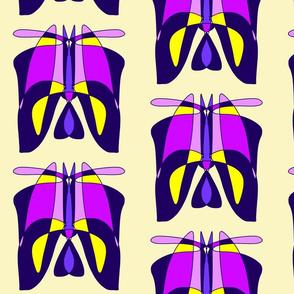 MIYO abstract purple totem