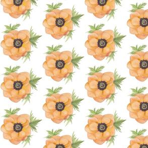 Anenome Blossom (Orange)