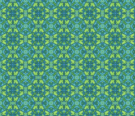 Lillypad fabric by alyhillary on Spoonflower - custom fabric