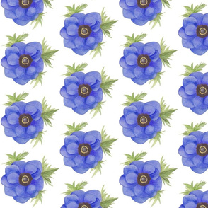 Anenome Blossom (Blue)