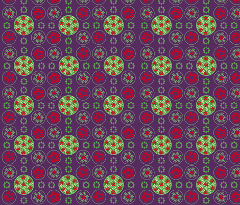 Valencia flower bridge fabric by snap-dragon on Spoonflower - custom fabric