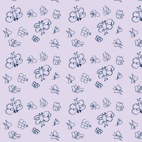 Butterflies (Lavender)