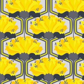 Neo_Geo_Floral_Citron Dream