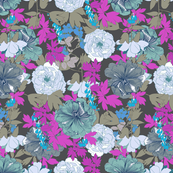 Peonie Party blue
