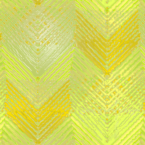 Shiny Yellow Chevron Log Cabin fabric by eclectic_house on Spoonflower - custom fabric