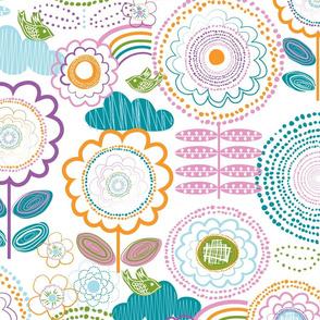 Dotty Floral