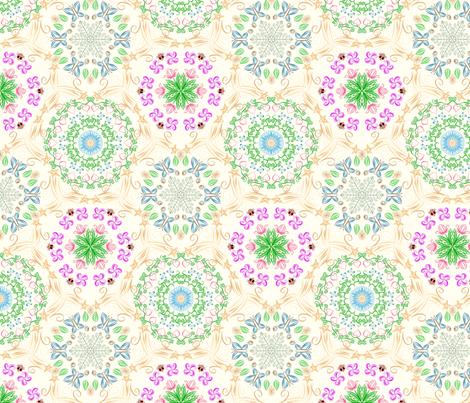 Feelin' groovy fabric by ailsaek on Spoonflower - custom fabric