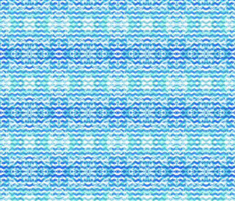 Faded wavy stamp fabric by lacartera on Spoonflower - custom fabric