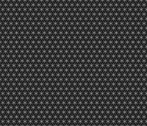 monochromedaisycircles1 fabric by et_al on Spoonflower - custom fabric