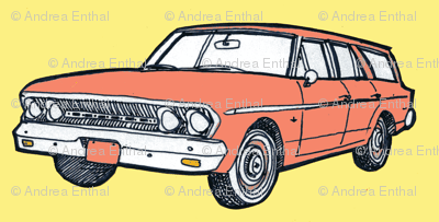 1963 AMC Rambler Classic car