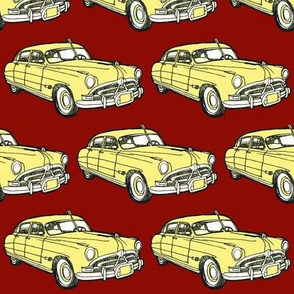 1951 Hudson Hornet red/yellow
