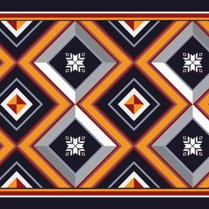 Ethnic Pattern.