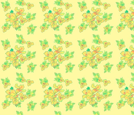 Wildflower on Charm fabric by della_vita on Spoonflower - custom fabric