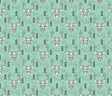 Geometric-deer-mint800_shop_preview